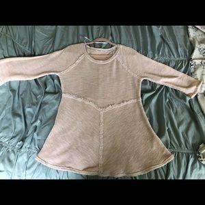 Calvin Klein pink Knit Top - Size Large